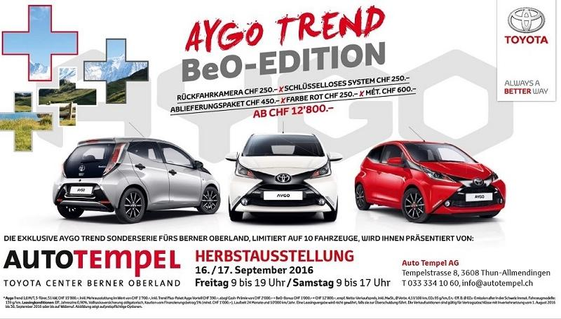 Aygo Trend BeO-Edition
