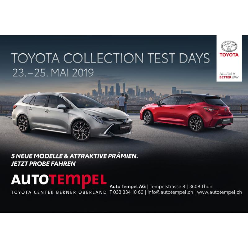 Toyota Collection Test Days