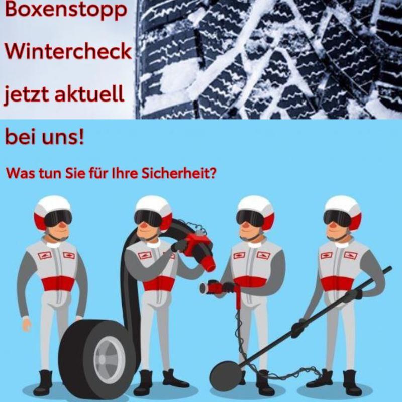 Boxenstopp und Wintercheck