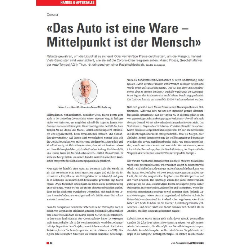 Autoinside Interview Marco Frozza