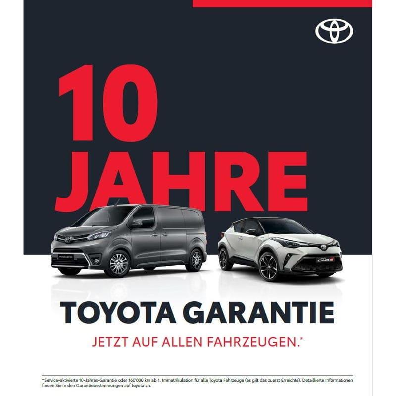 10-Jahres-Garantie